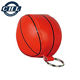 Soft plush basketball keyring