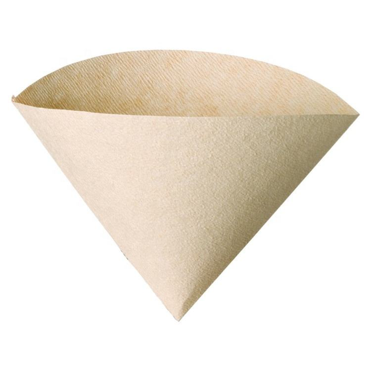New Product 100% Pure Natural Original Wood Pulp V60 Coffee Filter Paper Coffee Supplies