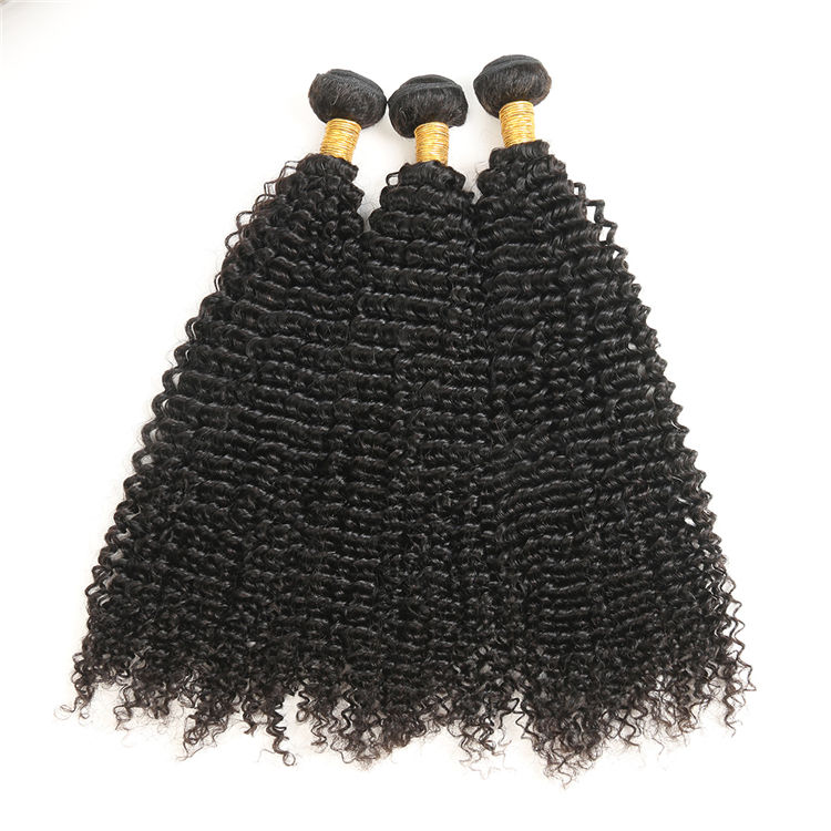 KBL 100% Mongolian human hair afro Kinky Curly weave 8A Grade Virgin Remy hair Black Women Hair Styles