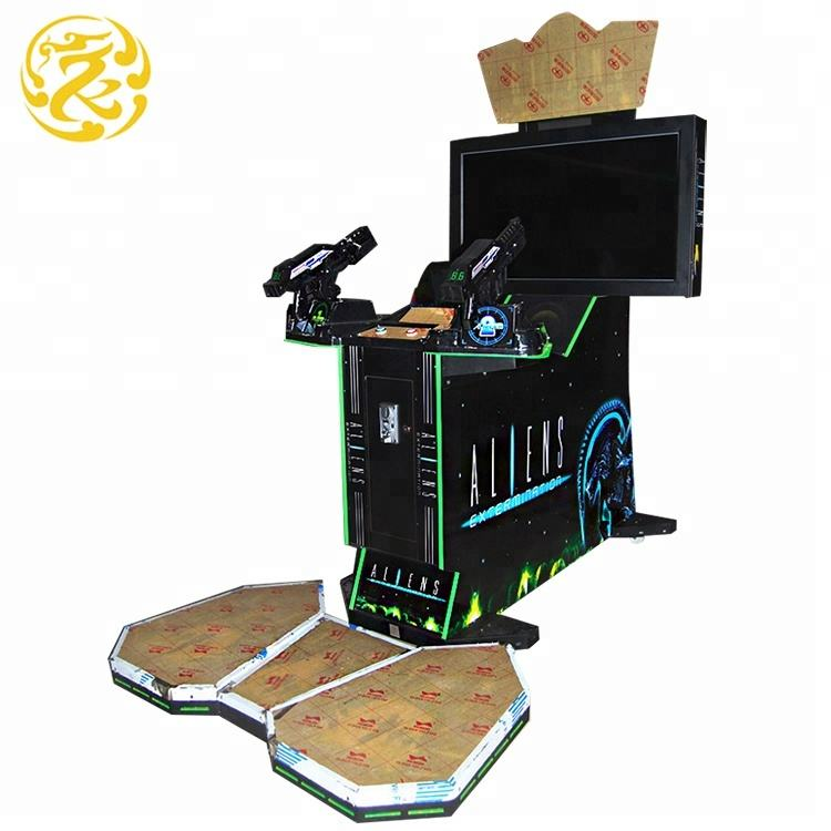 Volwassen muntautomaat aliens arcade dubai arcade video Shooting game machine