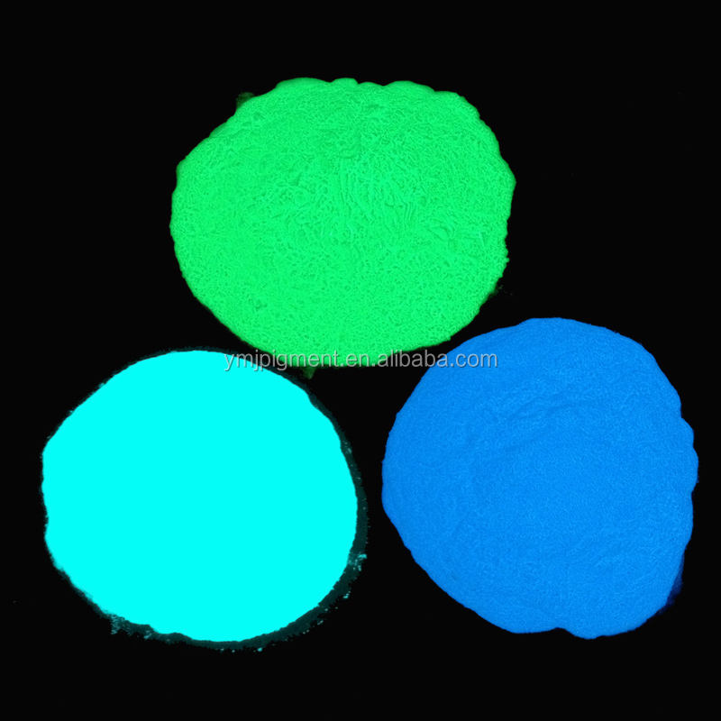 Hot Selling Strontium Photoluminescent Pigment Glow in The Dark