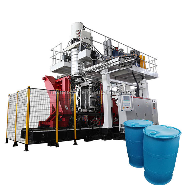 Hollow plastic 55 gallon 180L 170L 200L 220 liter drum bucket bottle barrel water oil tank extrusion making bow molding machine