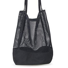 Organic Certified Produce Bags Cotton Mesh Tote bag Beach Canvas Tote Womens Shoulder Handbag