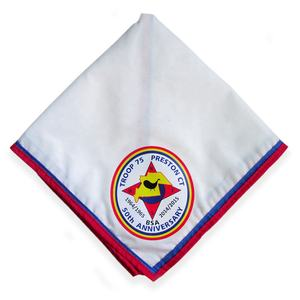 custom polyester cotton neckerchief scout scarf for summer camp