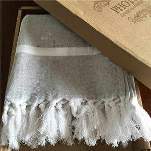 Fast Drying Good Absorbent Pestemal or Peshtamal Authentic Flat Woven Turkish Towel