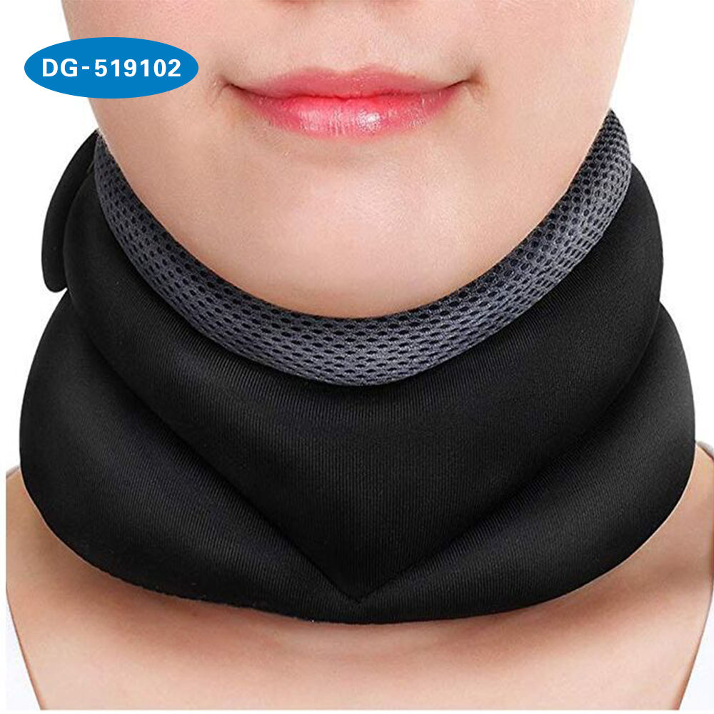 Unisex Soft Mesh Material Cervical Traction Neck Collar To Straighten Neck Relieve Neck Pain And Protection