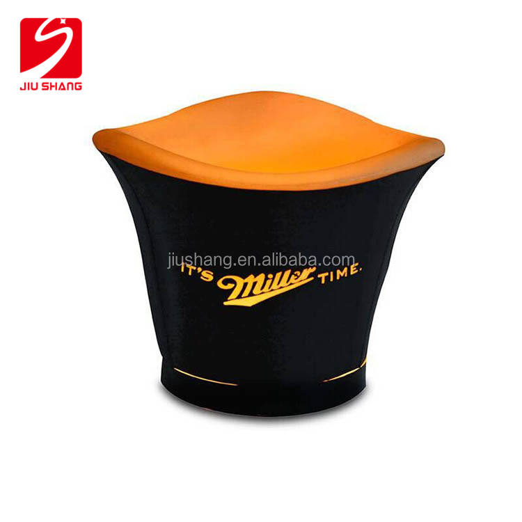 Hot Sale Unique PE And ABS Led Ice Bucket China