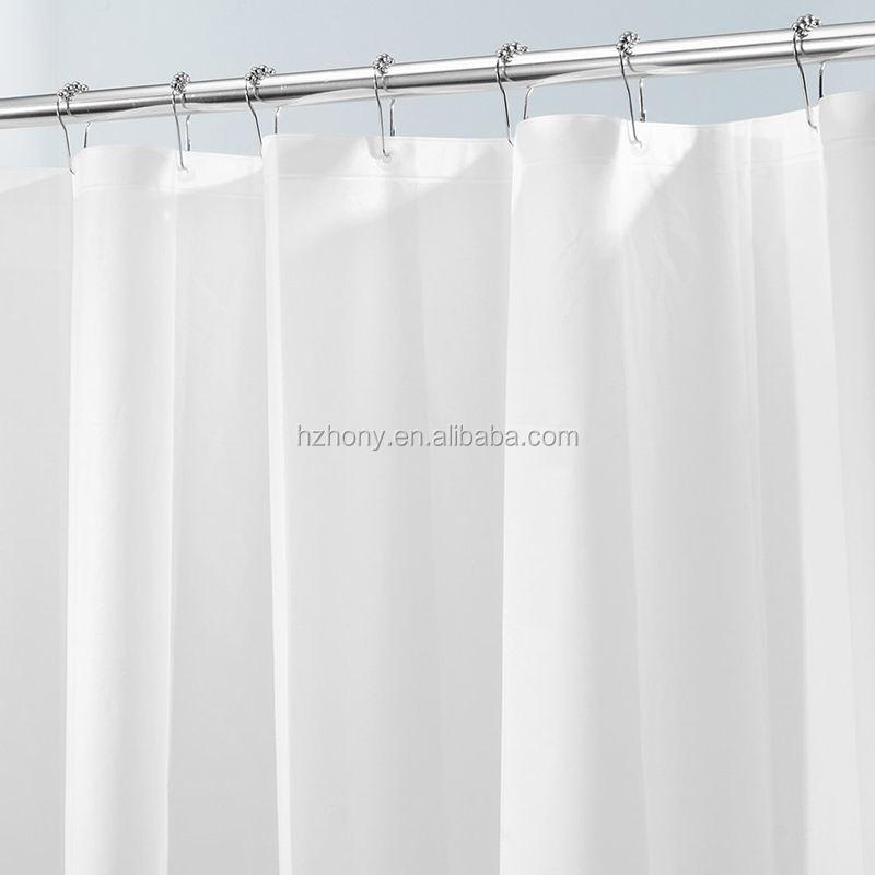 Waterproof Grommets PEVA 6G Stall Shower Curtain or Liner Mildew Free