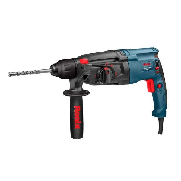 Ronix 26mm In Stock Electric Machine 800w Rotary Hammer Drill With BMC Model 2701