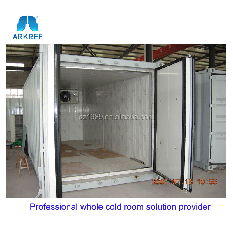 easy installation 20 feet and 40feet cold storage container used cold storage
