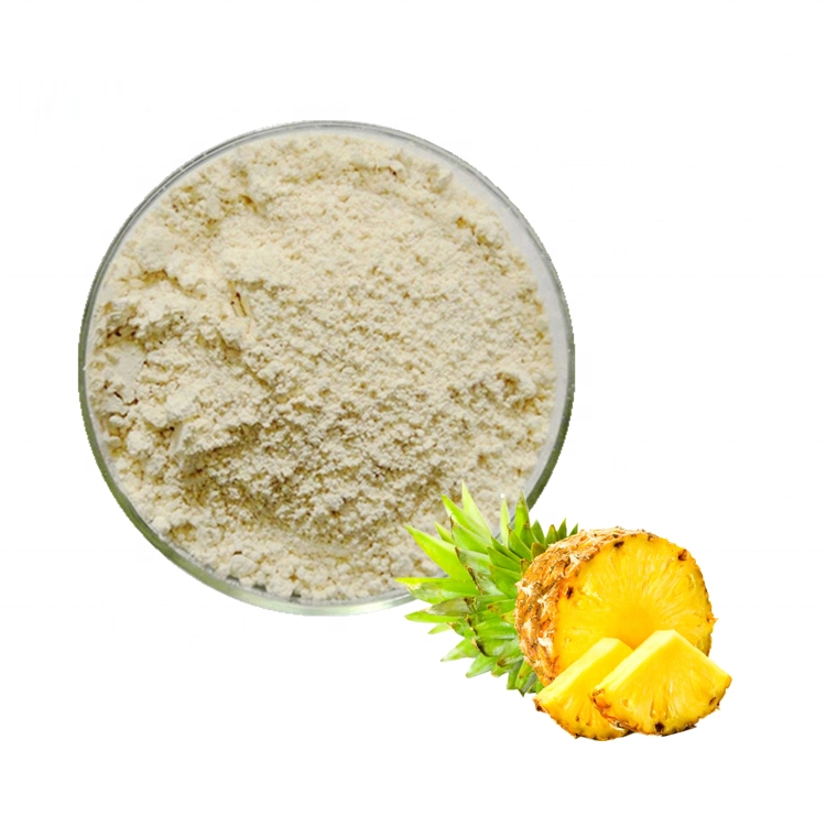 FDA Approved Natural Bromelain Organic Extract Pineapple Powder