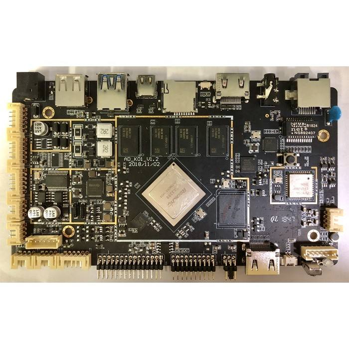 Android 7.0 RK3399 Quad Core A53 Motherboard RK339 Pro Chip Mainboard for Medical Education