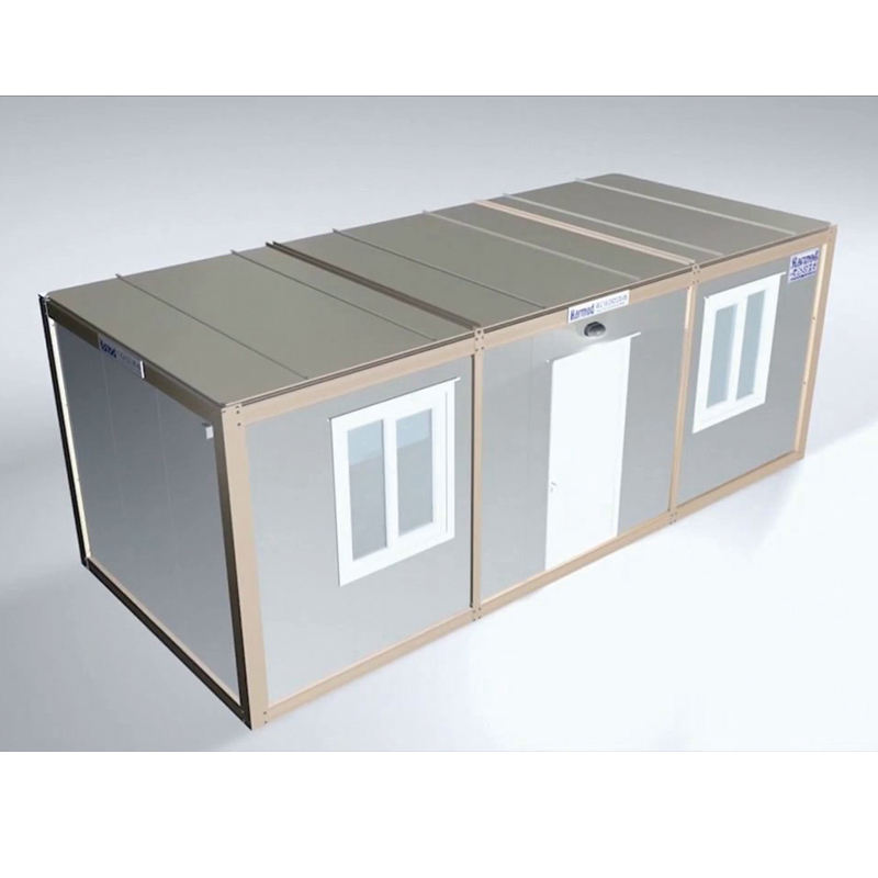 Factor outlet luxury modular portable folding cabins flat pack container house