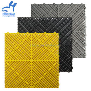 High Strength interlocking plastic checker plate floor grating with competitive price