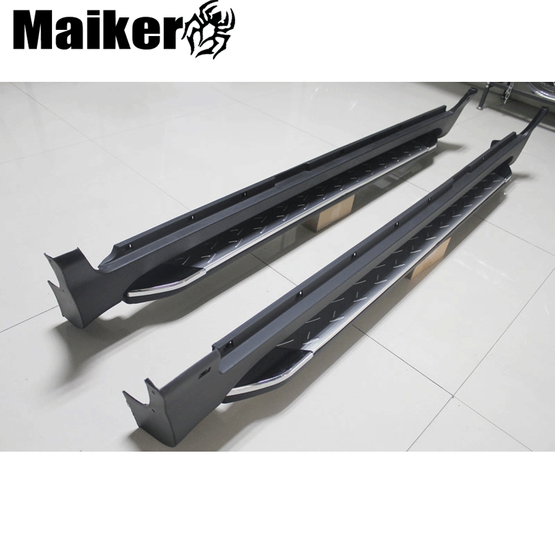 4 × 4 Off road 부 측 step running boards 대 한 kia sportage 2013 액세서리 nerf 바 from Maiker의
