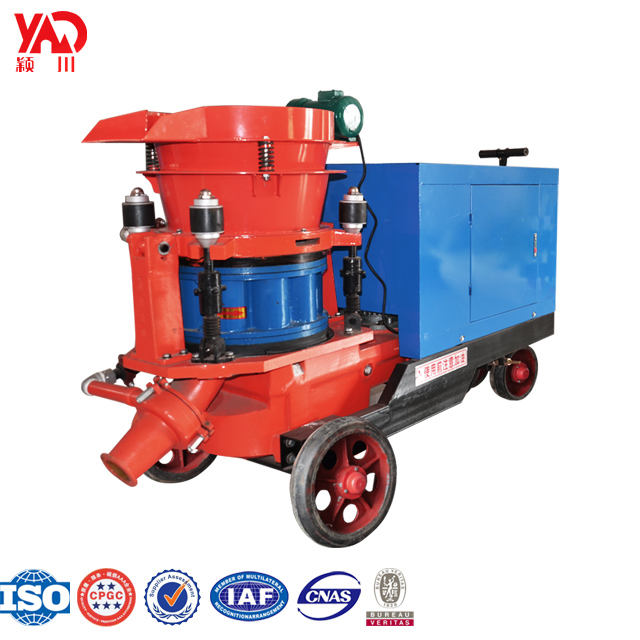 Offer Spare Parts Concrete Spraying Gun /Small Shotcrete Machine For Construction Industry