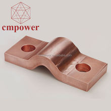 Power plants application electrical welding laminated Copper Shunts