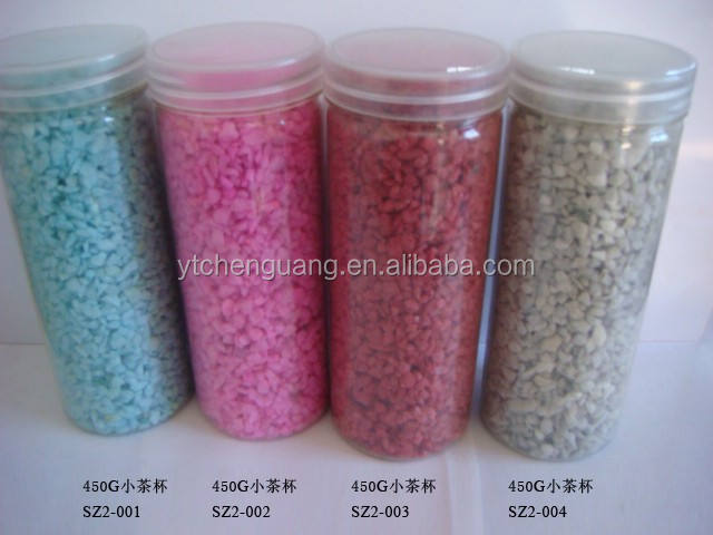 Aquarium Silica Sand/Farbe Sand Gefärbter Sand Made In China Factory