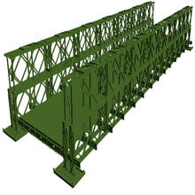 Hot Sale High Quality Metal Construction Bailey Bridge Used For Construction Bridge