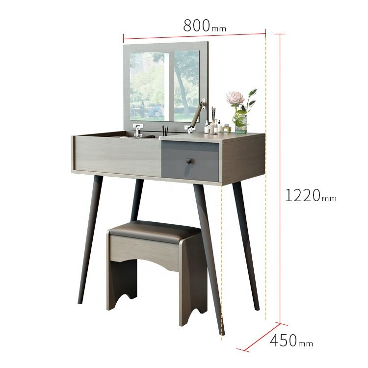 hot saling modern design new style wooden dressing table