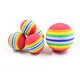 factory price custom sizes kids anti-stress eva /nbr foam bouncy rubber ball