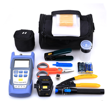 Fttx tool kits with fiber cleaver and optical power meter and visual fault locator At Wholesale Price