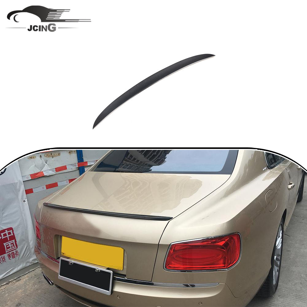 Tự động sợi Carbon ducktail spoiler cho Bentley Continental Flying Spur 2013-2016