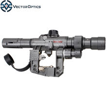 Vector Optics Dragunov 3-9x24 SVD First Focal Plane Sniper Rifle Scope Fit AK 47 FFP Illuminated Rangefinding Reticle Scope