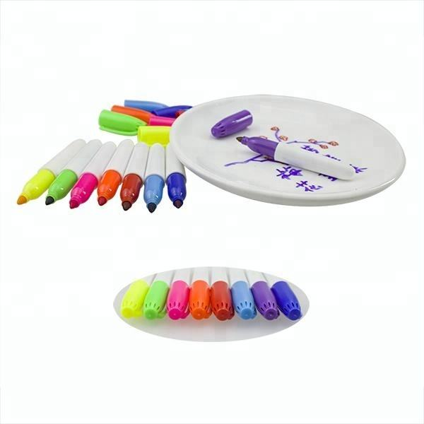 Stationary Permanent Ceramic Paint Marker Pens For Ceramic Mugs In Food And Dishwasher Safe Ceramic Paint