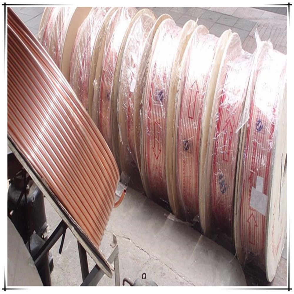 Manufacturer ASTM B42 cooper pipe copper capillary tube