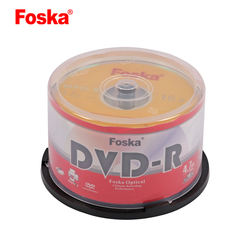 Foska 4.7G Blank Three-Colour Printing DVD Rom Disk