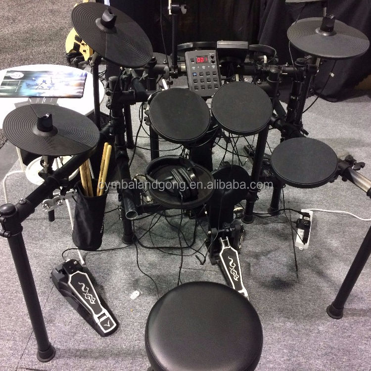 Electric Drums Set with high quality electronic drum cymbals