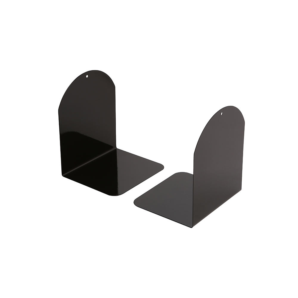 7 in Thickened Magnetic Office School Arc-shaped Metal Book Stand/Bookends
