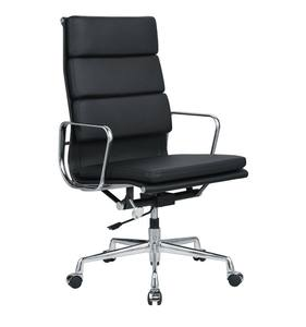 Best Ergonomic Recycling Black leather office chair for Sale