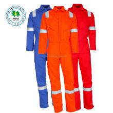Protective Cotton Offshore Coveralls Overalls Safety Reflective Coverall