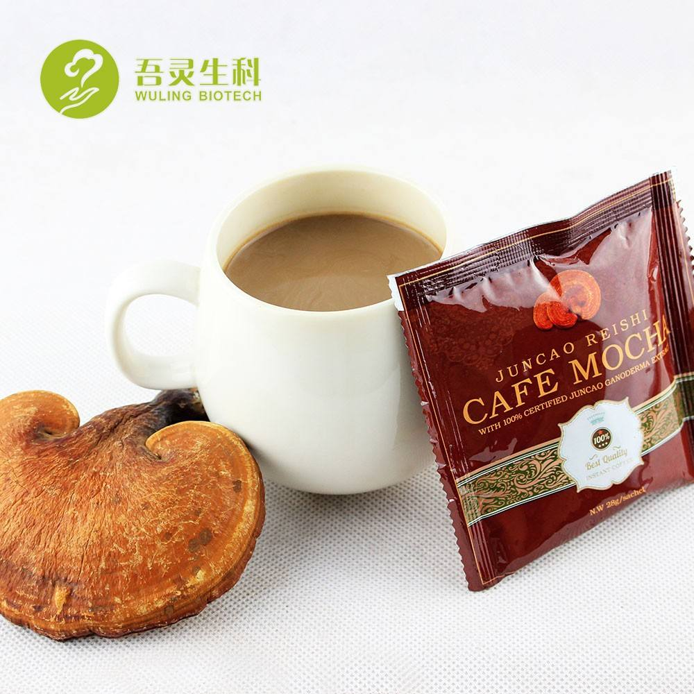 Café Reishi, ganoderma mocha, nouvelle collection