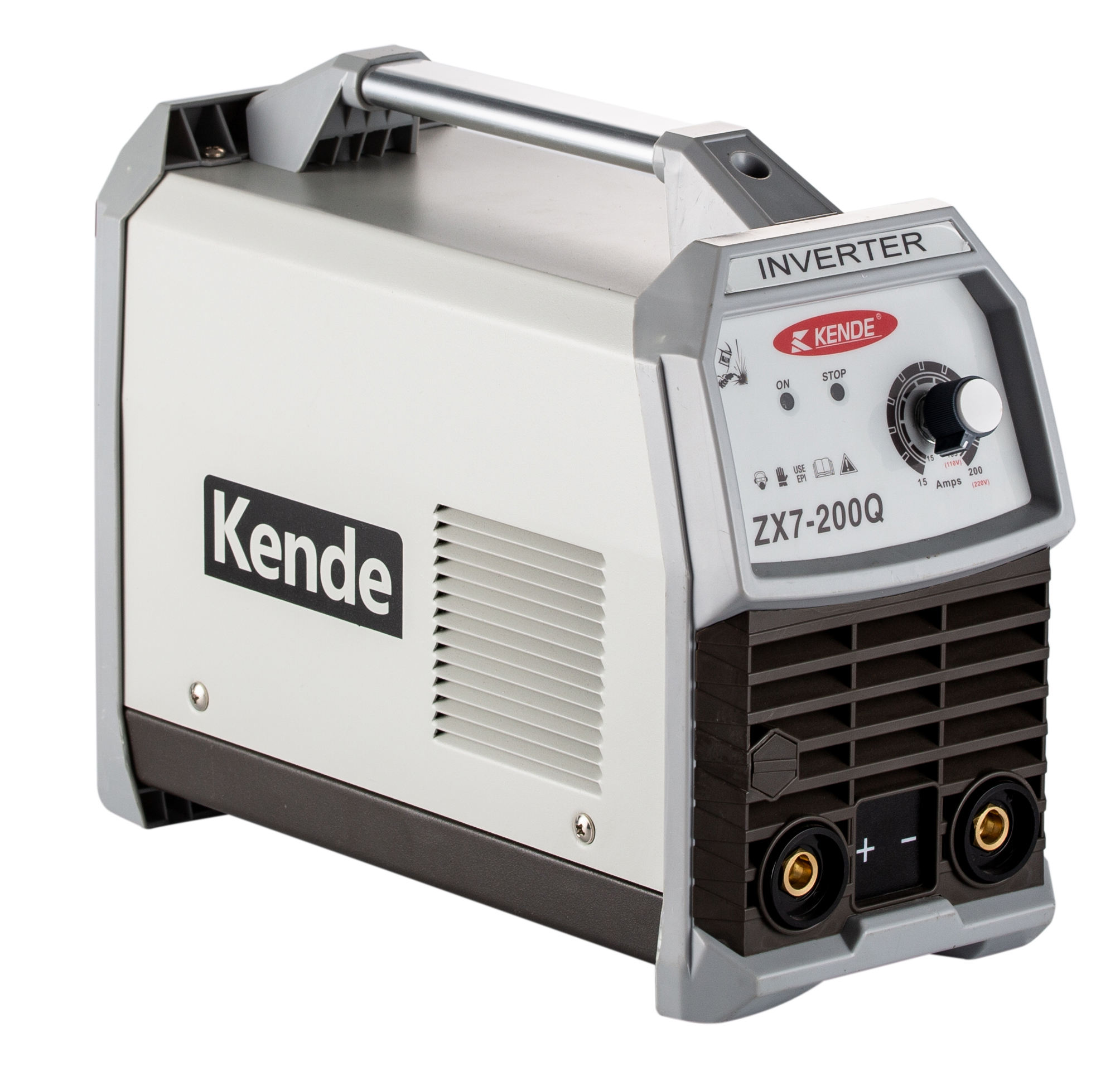 KENDE manufacture good quality ZX7-200Q IGBT Inverter MMA Stick Welding Machine Mig Mag Tig Arc metal handy welder
