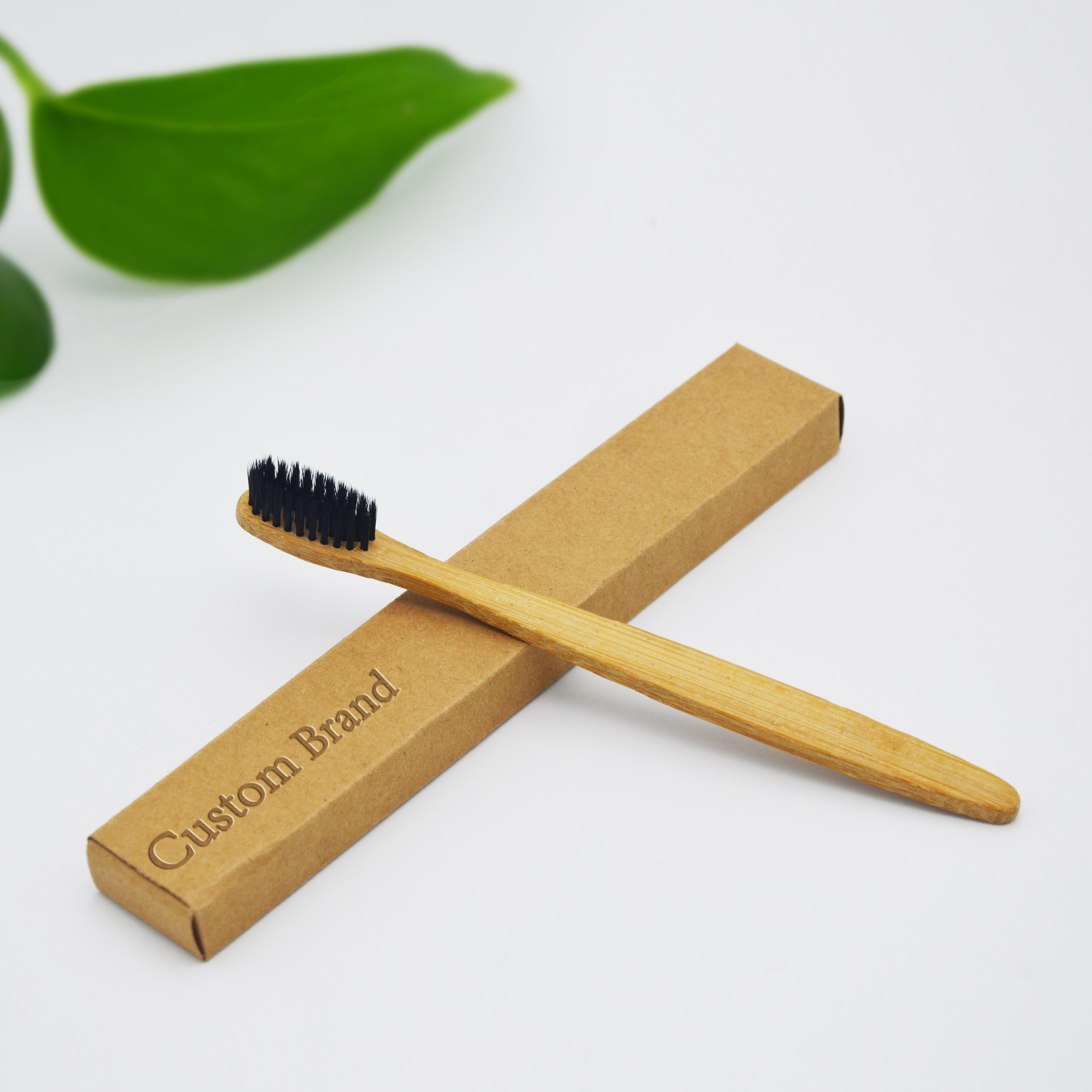 Free Sample OEM 100% Biodegradable Wholesale Cheap Bamboo Tooth Brush