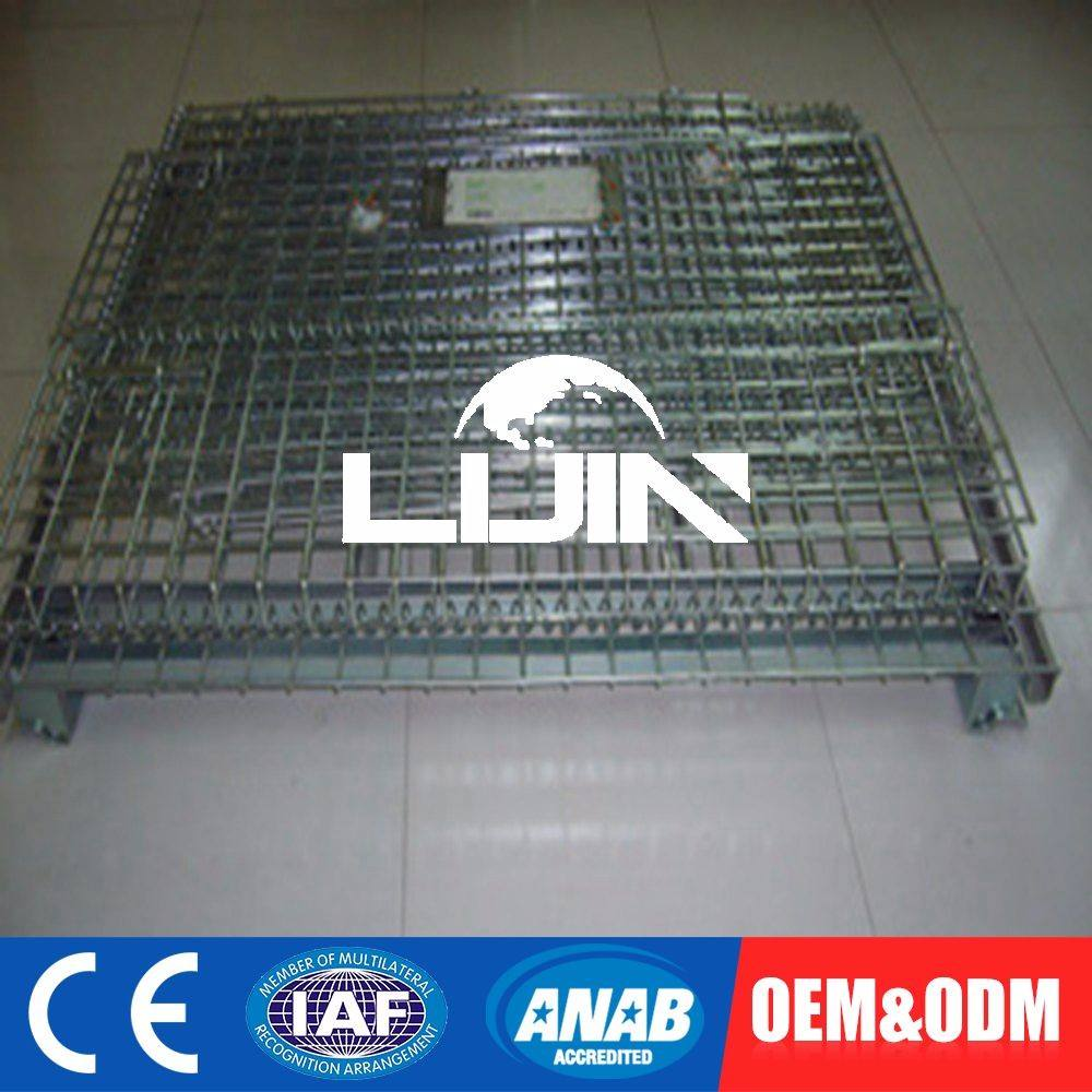 Metal Steel Warehouse Storage Container Cage Containers
