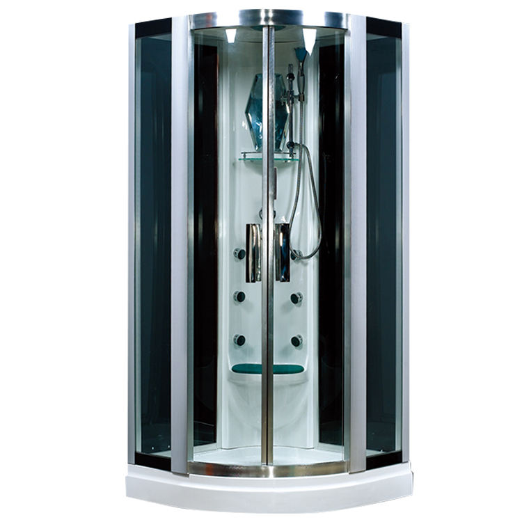 HS-SR059 with steam function acupuncture massage acrylic shower stalls