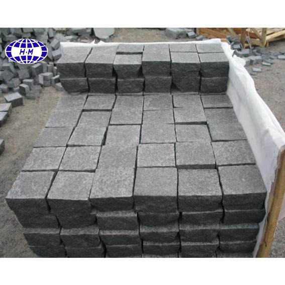 Black G684 Granite Paving Stone For Outdoor Landscaping Stone