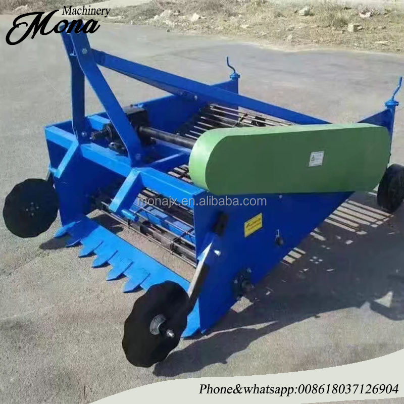 automatic mini walking tractor carrots garlic sweet peanuts potato harvester used for sale