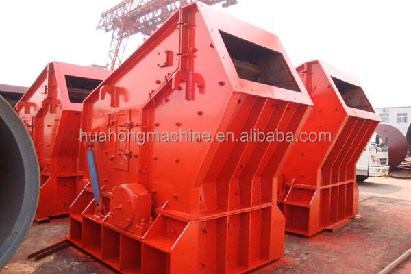 Energy saving Graphite stone impact crusher machinery, impact crusher , stone crusher in huahong company