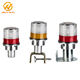 Solar Panel Signal Safety Lights Road Warning Light For Build Sites/Airport