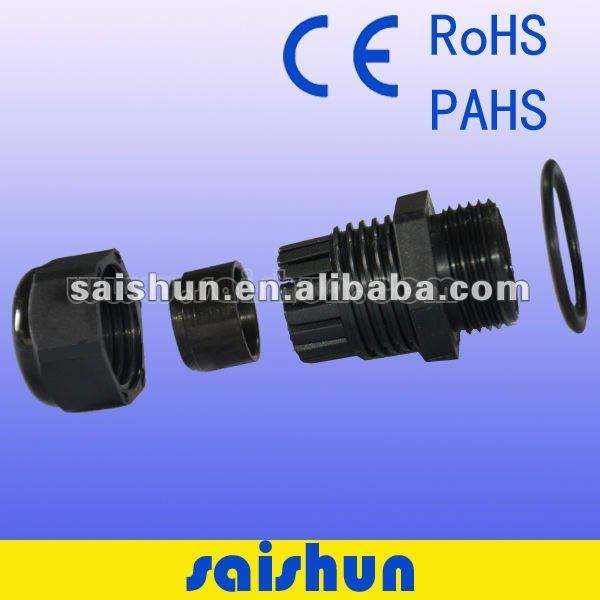 Cable Waterproof Gland PG13.5 Waterproof PA6 Cable Gland