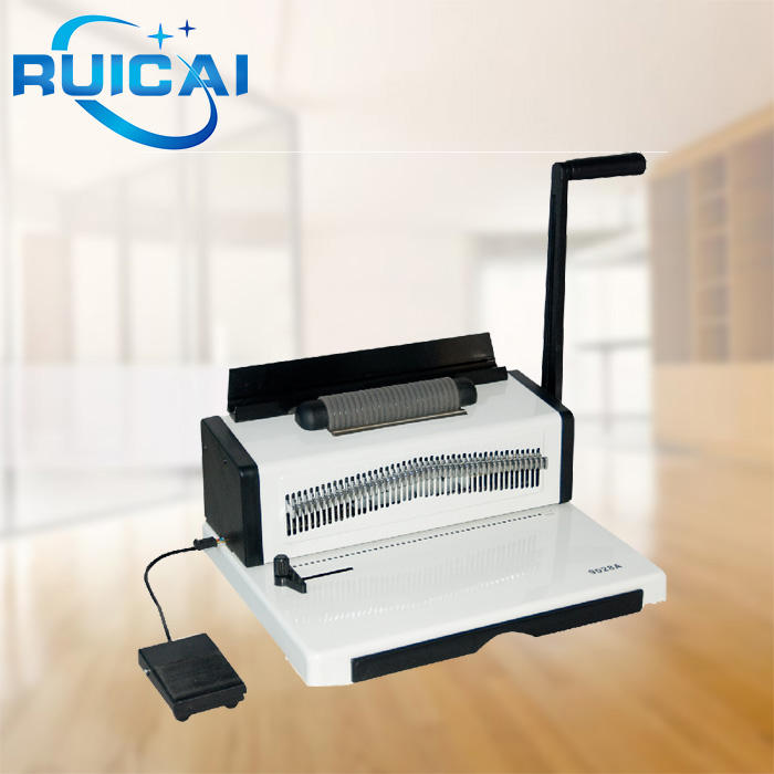 New Design Easy Use Spiral Wire Binding Machine