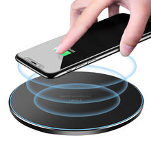 UCABLE free shipping mobile phone universal wireless charging qi 10w fast smart wireless charger