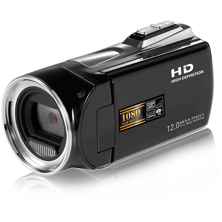 Made in China Professional HD 1080P 8X Digital Zoom Digital Video Camera with 12.0 Mega Pixels