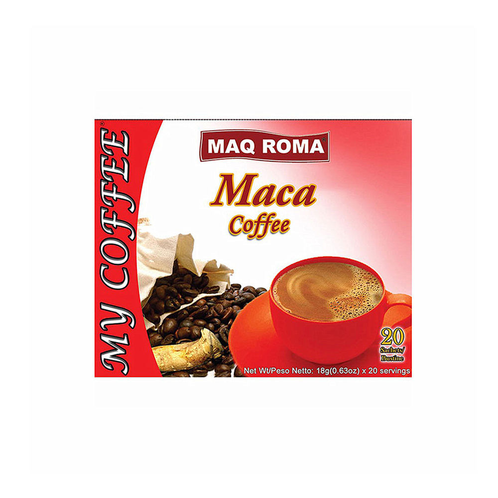 Best Selling MAQ Roma Maca Instant Coffee Brands
