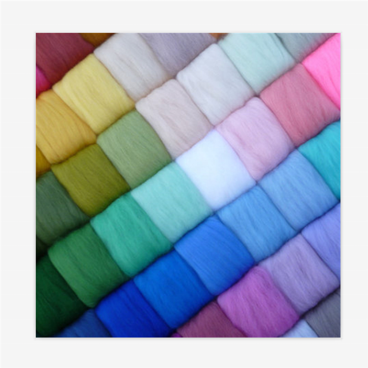 100% merino wool fibre DIY felt wet needle diy felted wool